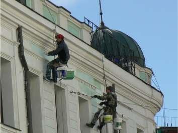 Ремонт и реставрация фасадов зданий Винница