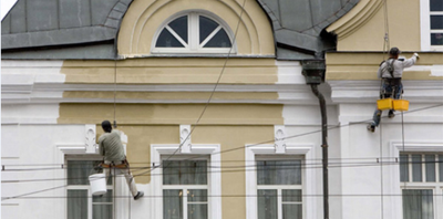 Ремонт и реставрация фасадов зданий