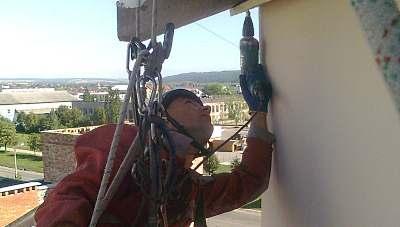 Монтаж антенн, кондиционеров, кабеля в Виннице