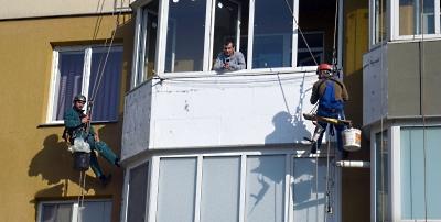 Утепление балкона в Виннице