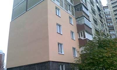 Отделка фасадов домов из плитки